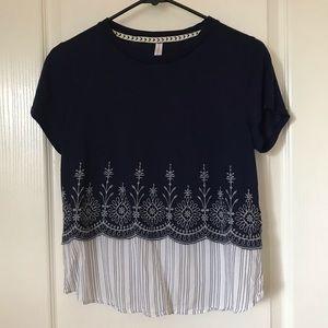 Xhilaration short sleeve top